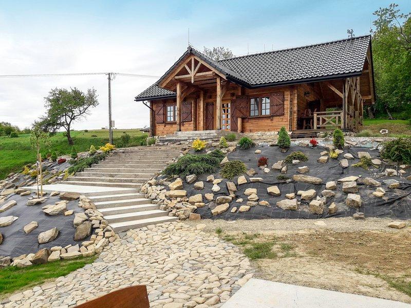 Bieszczady Chata, holiday rental in Haczow
