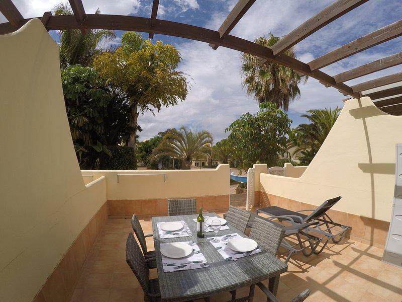 Villa de 3 habitaciones en complejo con piscinas, location de vacances à La Oliva
