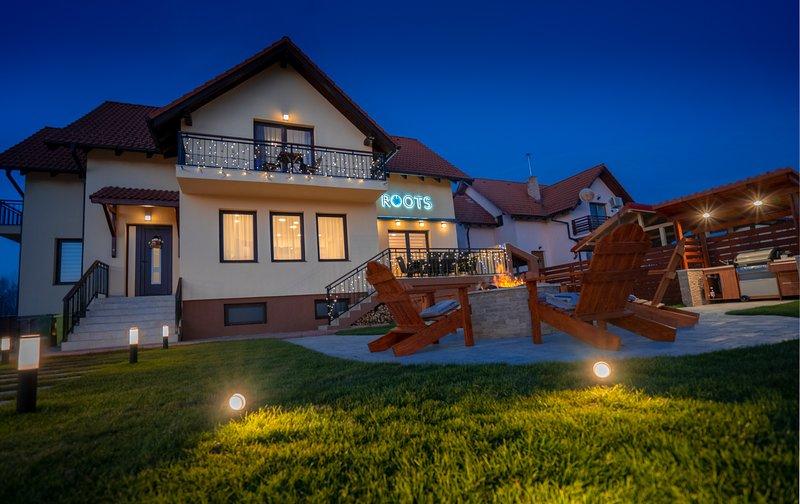 Roots Villa, holiday rental in Sanpetru