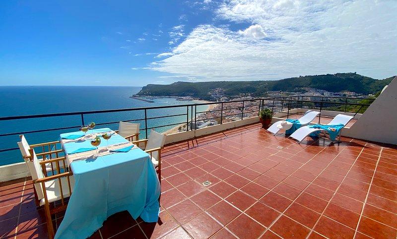 Sea View Apartment-Apartamento Vista Mar, location de vacances à Sesimbra