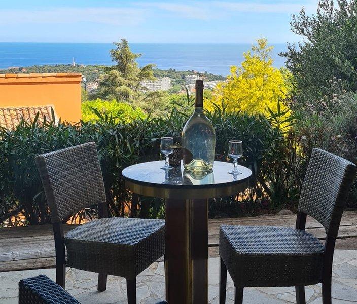 Magnifique villa vue mer, vacation rental in Roquebrune-Cap-Martin
