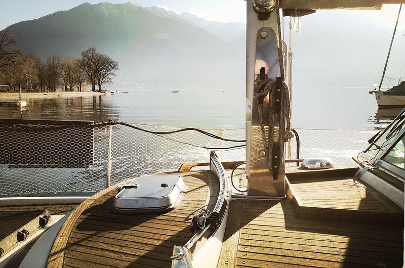 Do-Minus Sailboat, holiday rental in Cugnasco