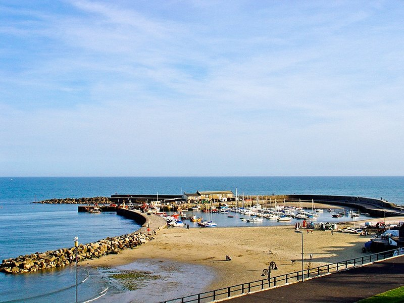 The Cobb and Harbour at nearby Lyme Regis