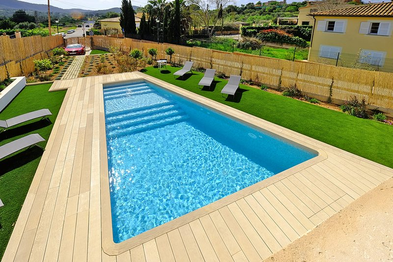 Villa Can Benet de sa Cubana, inviting SPA house in charming Calvia village, holiday rental in Santa Ponsa