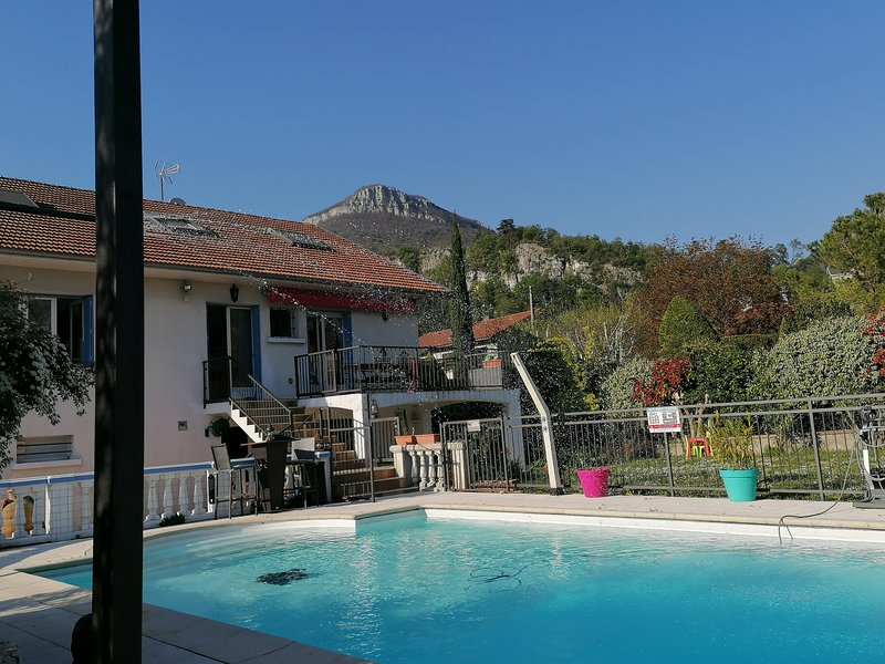 Amazing apartment with shared pool, holiday rental in Chirens