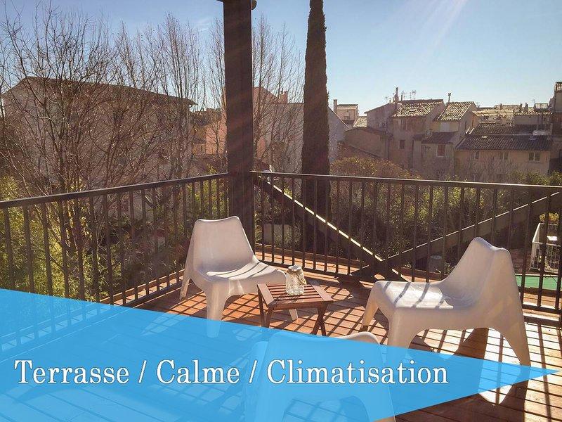 Centre Ville - Terrasse - Superbe Loft Lumineux, casa vacanza a Bouches-du-Rhone
