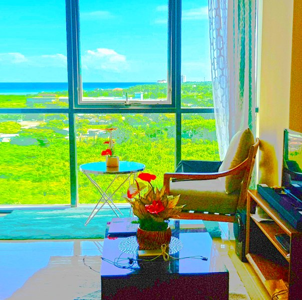 New Modern Condo: Stunning OceanView at Mactan Cebu, holiday rental in Lapu Lapu