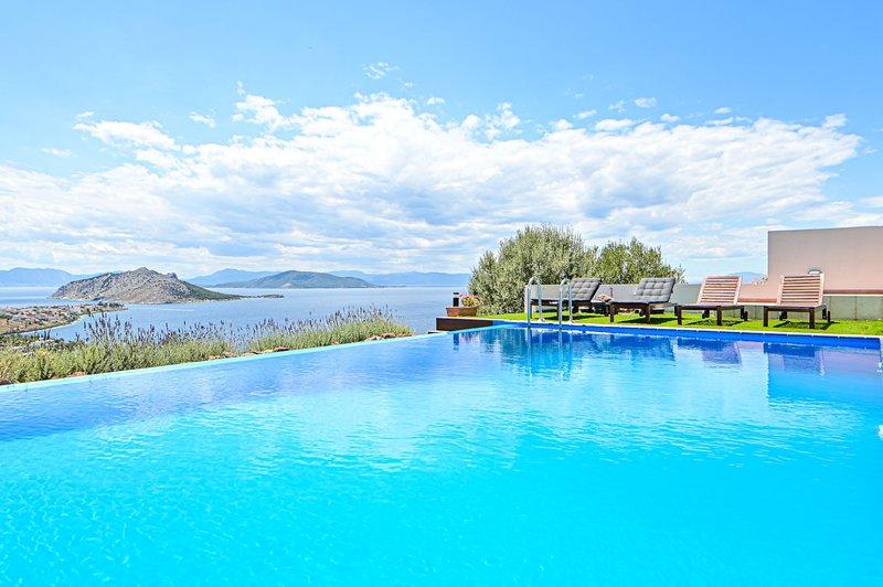Villa Calypso by Olive Villa Rentals, holiday rental in Sfentouri