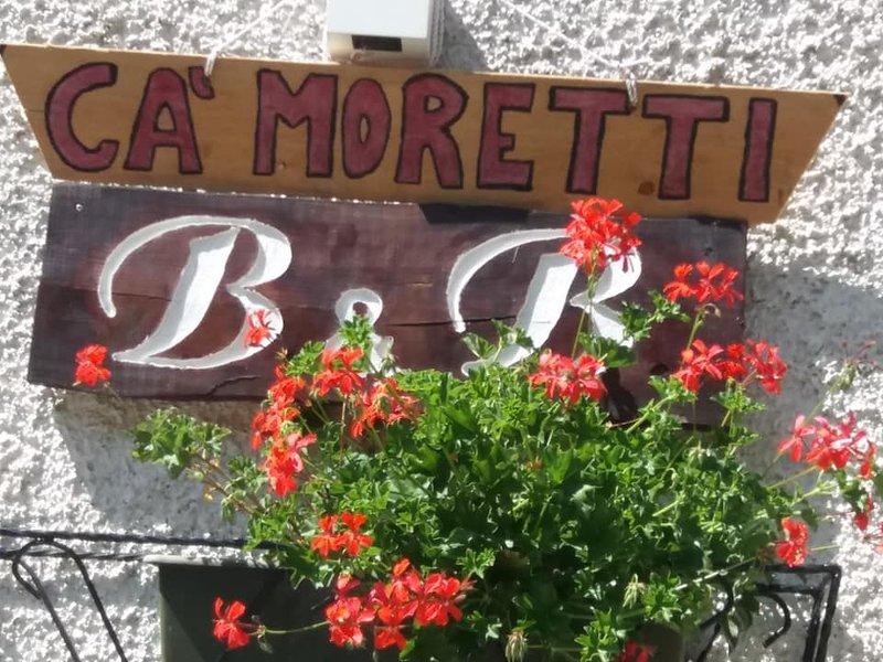 B&B CA' MORETTI, vacation rental in Foppolo