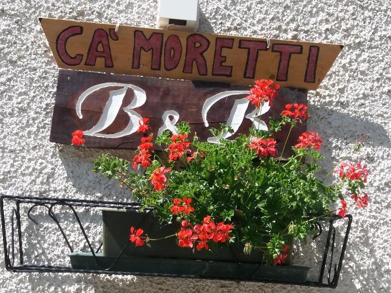 B&B Ca' Moretti -Il piacere del risveglio  fra i monti, vacation rental in Foppolo