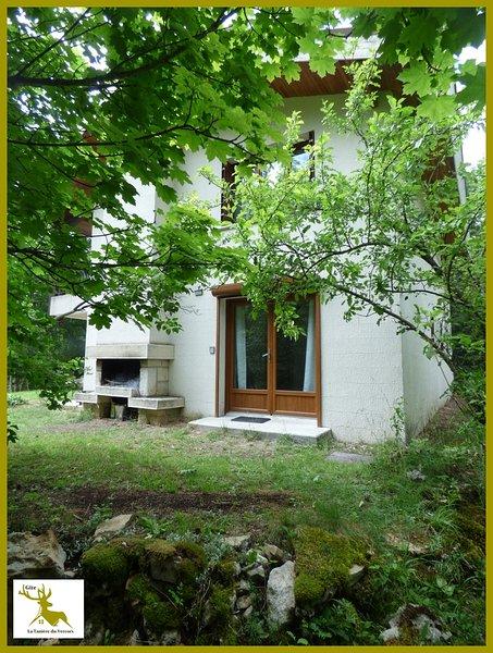 'La Tanière du Vercors' - Gîte tout confort en plein cœur du parc régional, location de vacances à Vassieux-en-Vercors