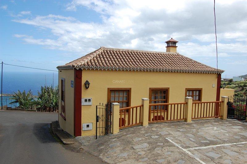 Charming Country house San Andrés y Sauces, La Palma, casa vacanza a San Andres y Sauces