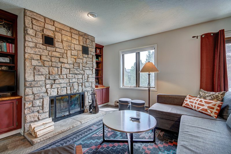 FREE SkyCard Activities - Dog Friendly, Walk to Town, Views Of Blue River, vacation rental in Breckenridge