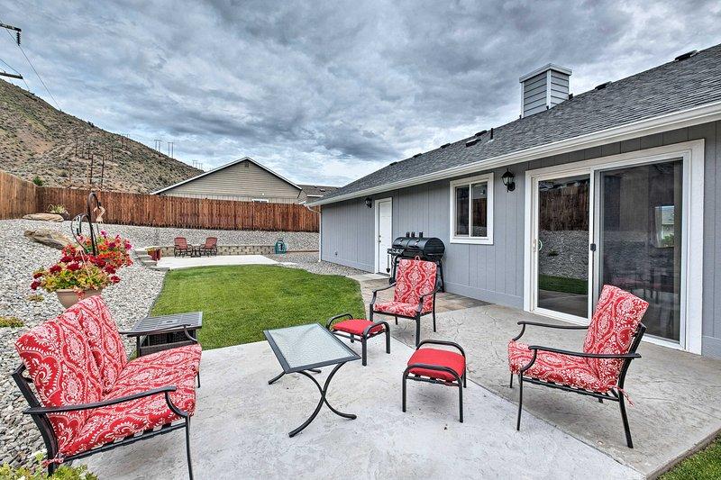 NEW! Saddle Rock East: Wenatchee Home <3Mi to Town, location de vacances à Wenatchee