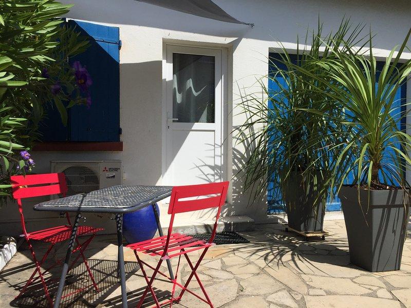 Alba Studio 2, Saint Cyprien Plage, 150m de la Plage, alquiler de vacaciones en Saint-Cyprien-Plage