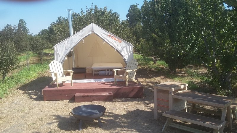 Tentrr Signature Site - Lagier Ranches Camp, vacation rental in Oakdale