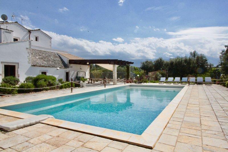 Masseria Casalicchio, holiday rental in Castellana Grotte