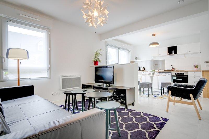 Le Cosmos - Studio avec terrasse quartier Beaujoire - Nantes, location de vacances à Le Cellier