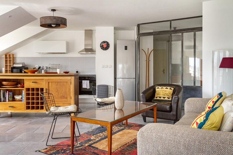 Epicea- Spacieux 3 chambres avec parking., aluguéis de temporada em Saint Herblain