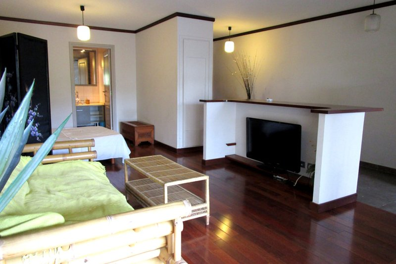 Studio Blue Lagoon - near Papeete center - pool & gym - 3 pers, holiday rental in Arue