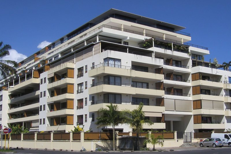 Studio Blue Lagoon - near Papeete center - pool & gym - 2 pers, alquiler vacacional en Pirae