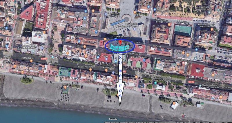 Céntrico junto a la playa con wifi gratis, vakantiewoning in Rincon de la Victoria