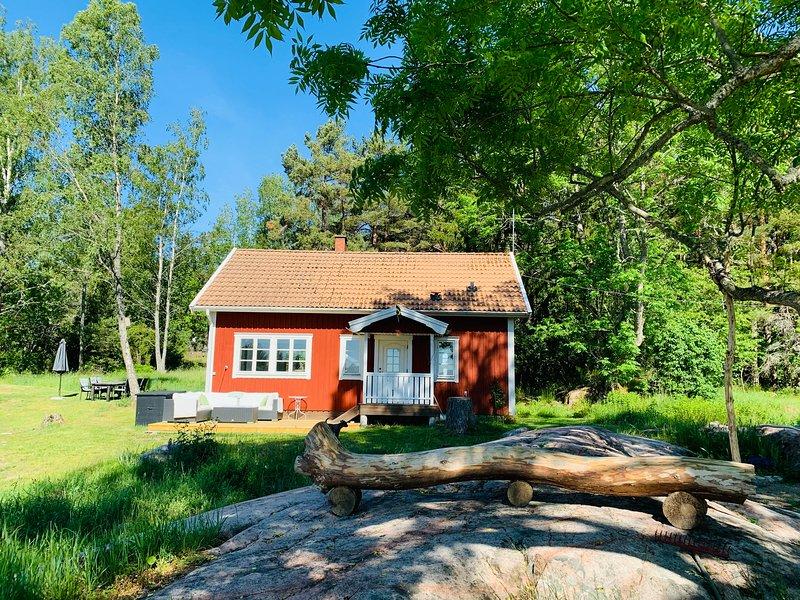 Avskilt lantligt hus nära havet – semesterbostad i Södermanlands län