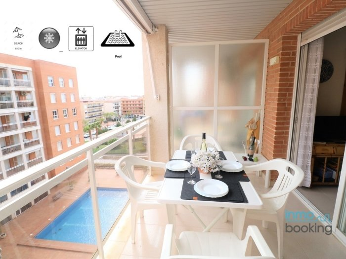 InmoBooking Olimar, central, air-conditioned and with pool, alquiler vacacional en Vinyols i Els Arcs