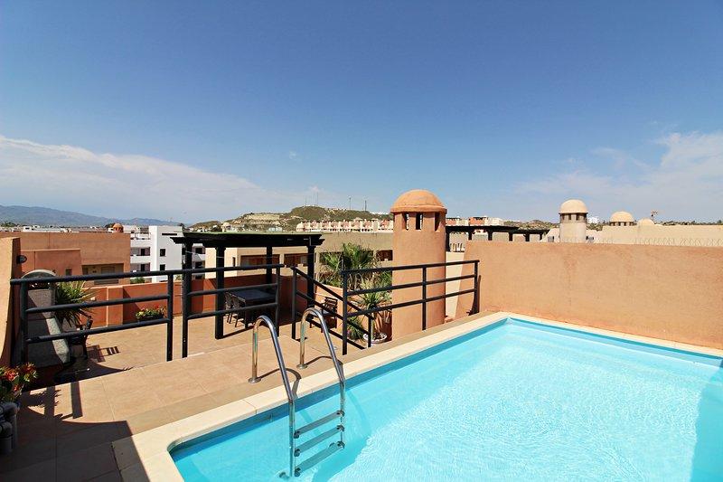 Paraíso de Vera I - 250m playa, WiFi, piscina privada, alquiler vacacional en Playas de Vera
