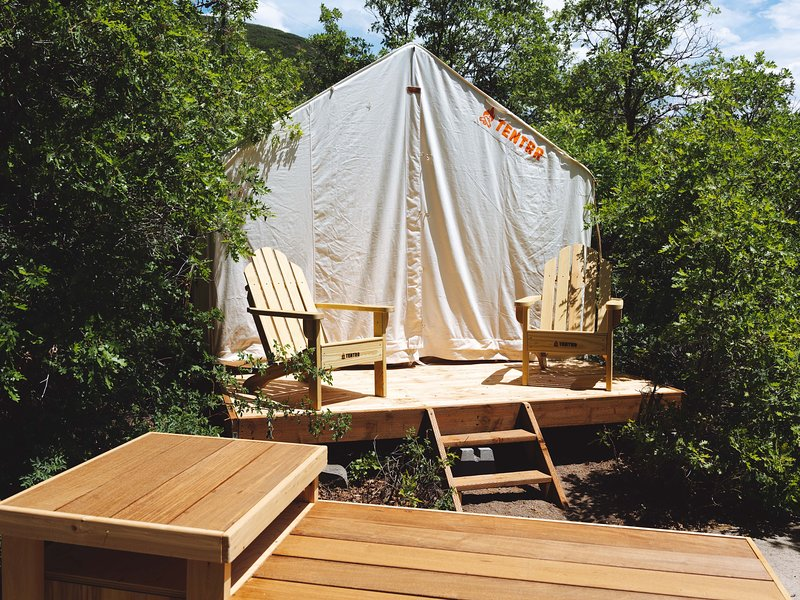 Tentrr State Park Site - Wasatch Mountain State Park: Oak Hollow Site 116, location de vacances à Midway
