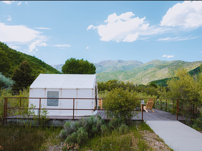 Tentrr State Park Site - Wasatch Mountain State Park: Duck's Landing ADA Site A, vacation rental in Midway