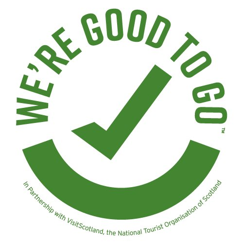 """We have achieved the  """"We're Good To Go"""" industry standard mark for being """"Covid19 ready"""""""