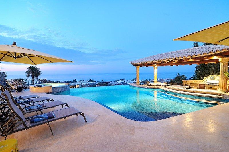 Delight your senses! Magnificent Ocean view home in exclusive Puerto Los Cabos G, holiday rental in Animas Bajas