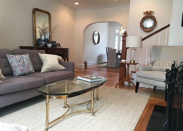Superb location, parking included, holiday rental in Arlington