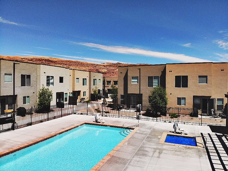 Entrada at Moab's Huge Pool, Spa, and Outdoor Area