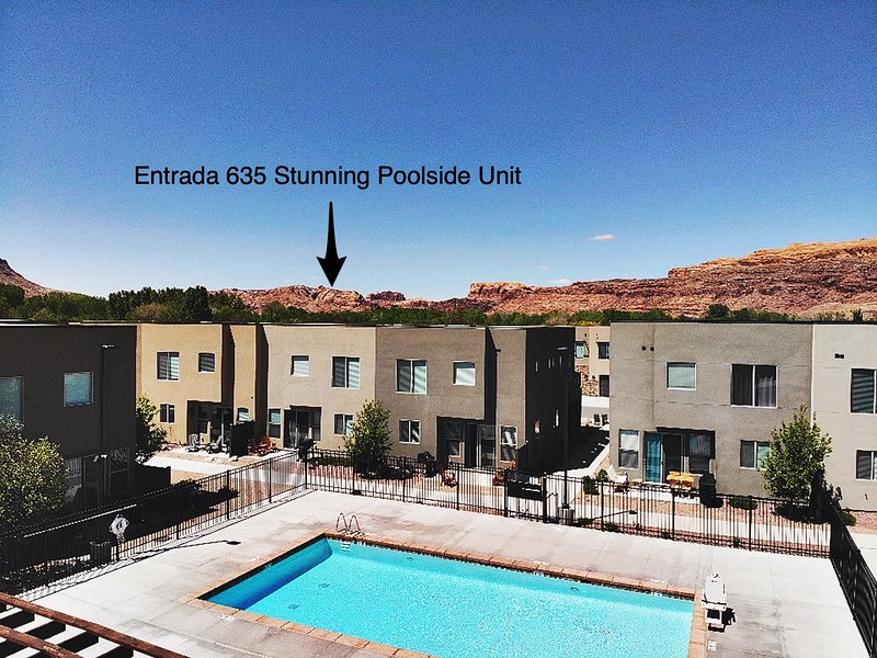 Pet Friendly   Stylish Interior   Poolside Home   96-Hour Cancellation   EPA Cle, holiday rental in Arches National Park