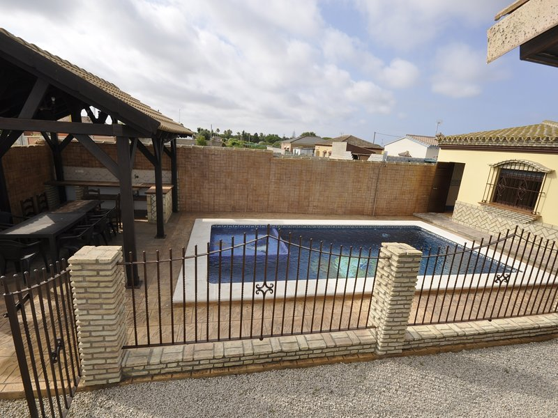 Villa with private pool and private barbecue, holiday rental in Pago del Humo