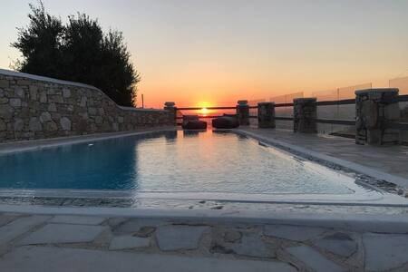 CLS Cavo Delos,Private Pool-Sunset View, holiday rental in Kanalia