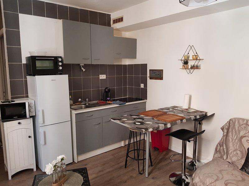 Studio cosy neuf proche centre MPL, holiday rental in Saint-Jean-de-Vedas