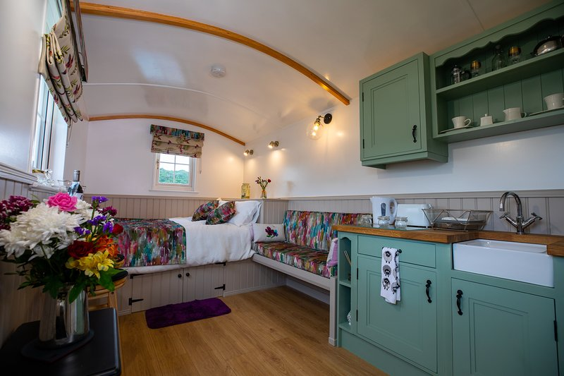 Shepherd Hut Blaney, holiday rental in Kesh