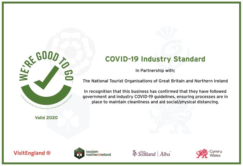 We follow government and industry COVID-19 guidelines