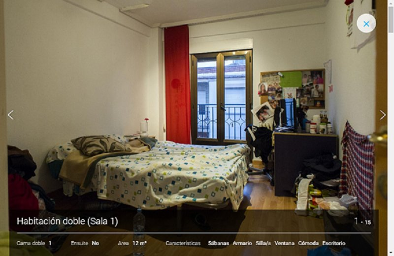 Habitacion amplia, CENTRO,WIFI,moderno,cocina completa,265€ con gastos, balcon, holiday rental in Coca de Alba
