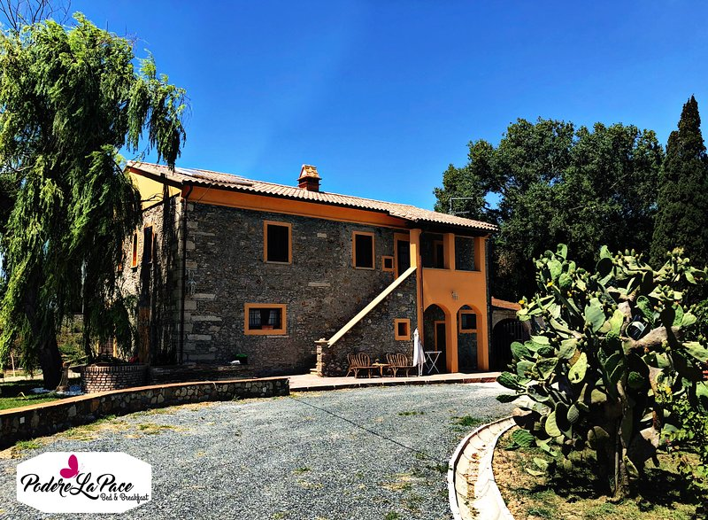 Bed & Breakfast Podere La Pace, vacation rental in Malandrone