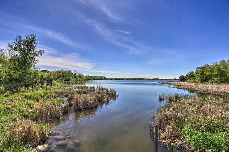 Walk to Little Turtle Lake.