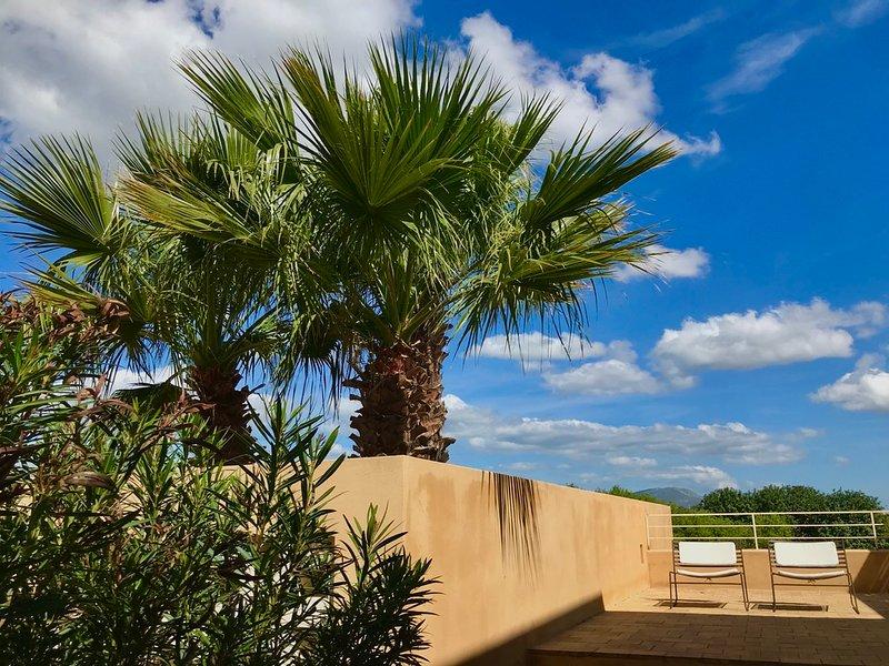 Case Graffeo - Casa della Palma in Campagna a Menfi con vista Mare in Sicilia, holiday rental in Santa Margherita di Belice
