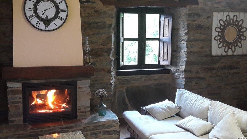 O Paxar, vacation rental in Becerrea