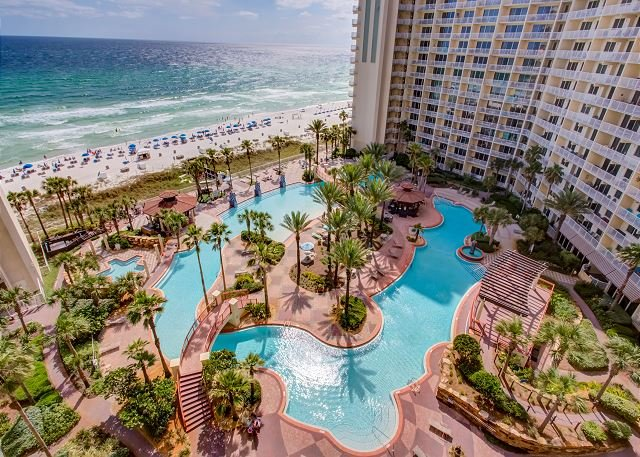 Unit 1021: Beach Front! 2 Bdrm 3 bath with Separate Bunk Area! 10th FL, vacation rental in Panama City Beach