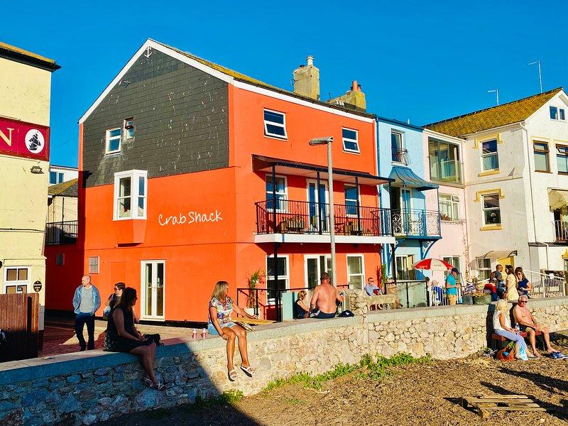 Crab Shack Apartments - Stylish back beach duplex apartment, aluguéis de temporada em Teignmouth