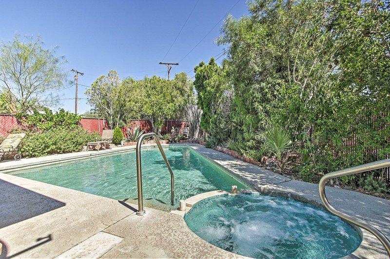 Home, Private Therapeutic Geothermal Mineral Pool!, alquiler de vacaciones en Morongo Valley