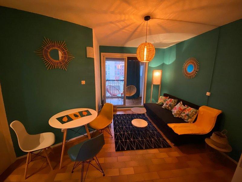 Studio + bunkbed apartment / Centre Port, casa vacanza a Cap-d'Agde